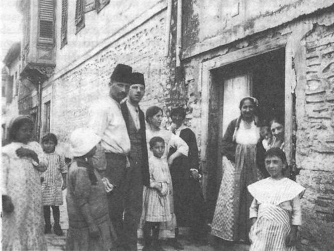 Jews of salonika 1917